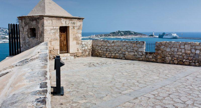 Burg Ibiza - Aussicht