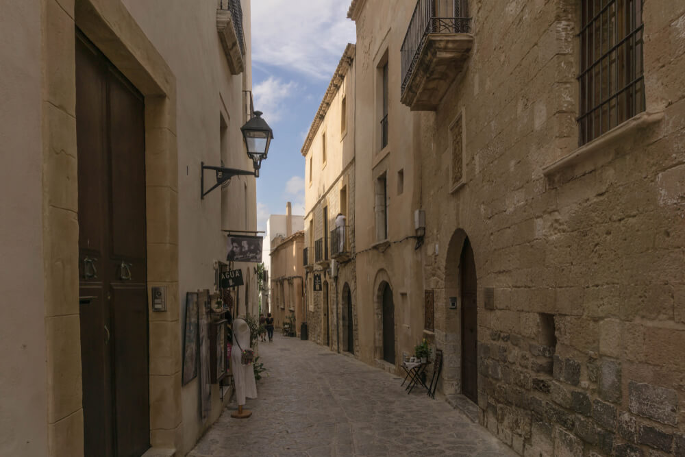 Burg Ibiza - Gassen