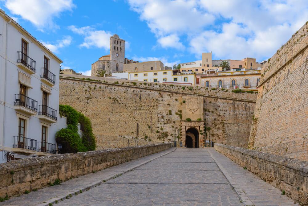 Burg Ibiza - Tor
