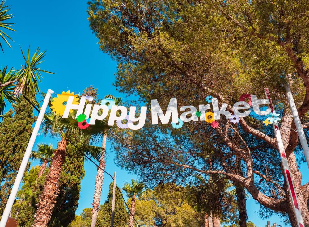 Hippiemarkt Punta Arabi Ibiza