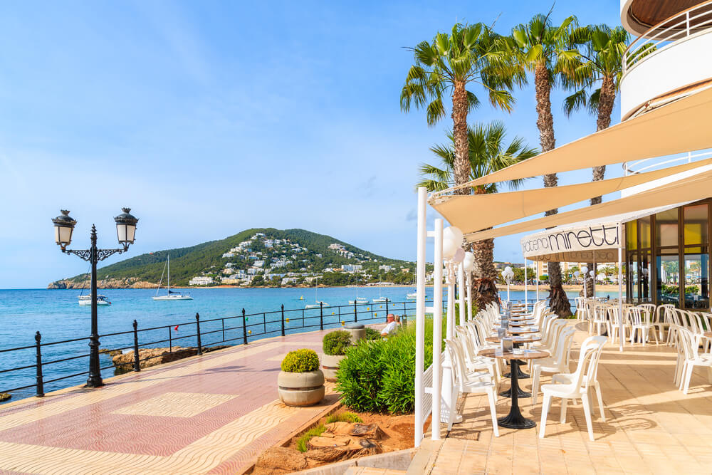 Santa Eulalia Promenade