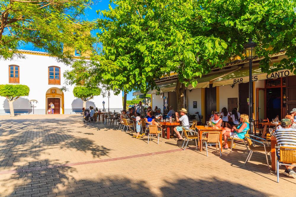 Santa Gertrudis Fußgängerzone