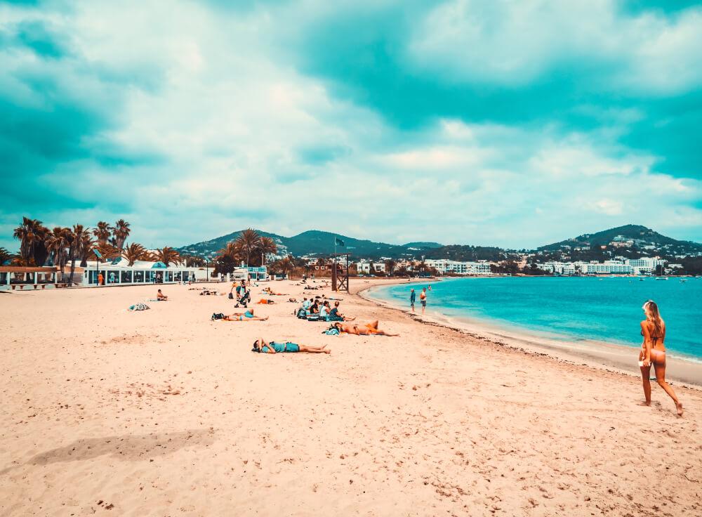 Strand von Talamanca Ibiza