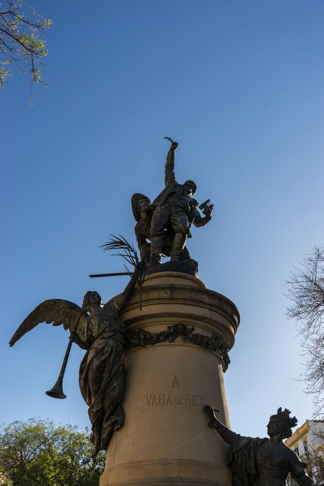 Vara de Rey Denkmal