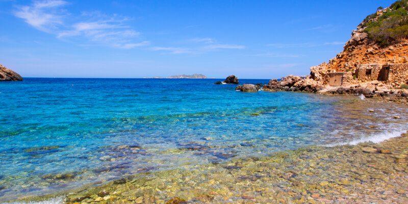 Cala Moli Strand Ibiza