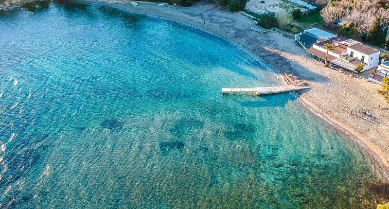 Cala Pada Strand Ibiza