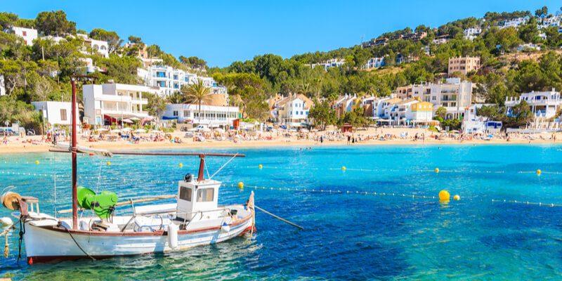 Cala Vadella Strand Ibiza